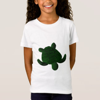 T distorcido da tartaruga camiseta
