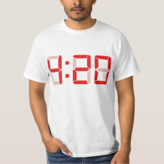 T do 4:20 - pulso de disparo de Digitas Camiseta