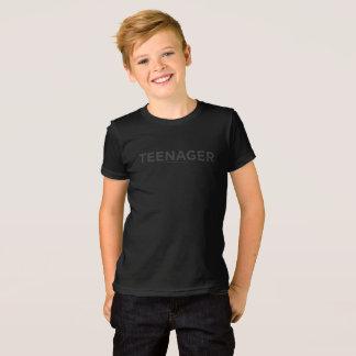 T do adolescente camiseta