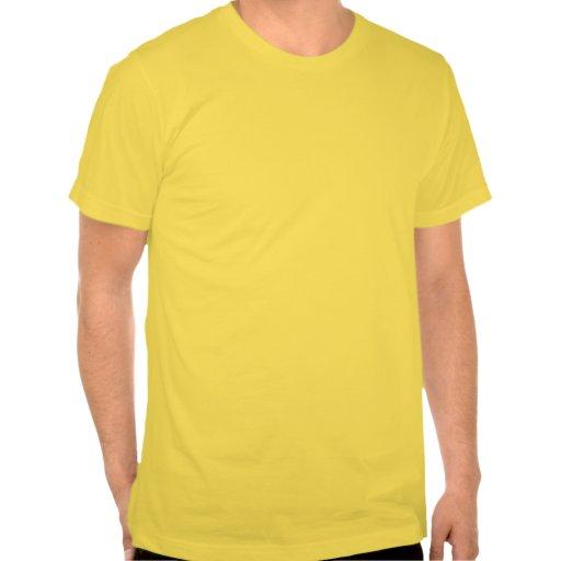 T do amarelo da experiência do safari tshirt