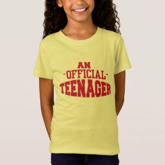 T do ANIVERSÁRIO do ADOLESCENTE oficial um 13o Camiseta