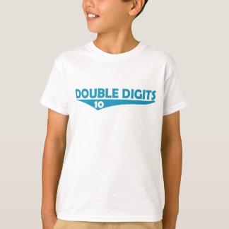 T do ANIVERSÁRIO dos dois dígitos #10 Camiseta