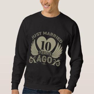 T do aniversário para o casal. 10o Camisa do
