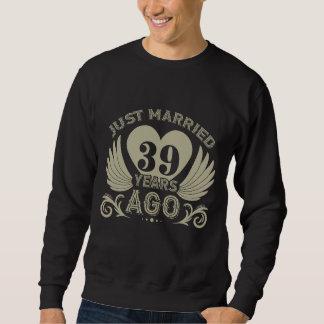 T do aniversário para o casal. 39th Camisa do