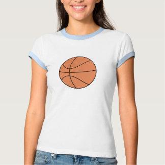 T do basquetebol do macarronete camisetas