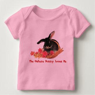 T do bebê do coelho de Ostara Camiseta Para Bebê