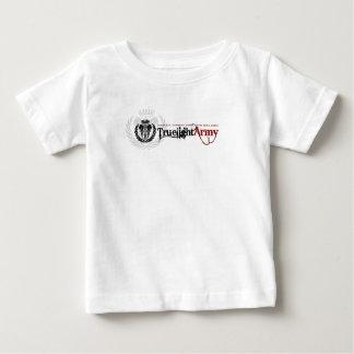 T do bebê do exército de Truelight Camiseta Para Bebê