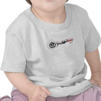 T do bebê do exército de Truelight Tshirts