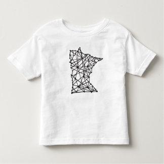 T do bebê do manganês camiseta infantil