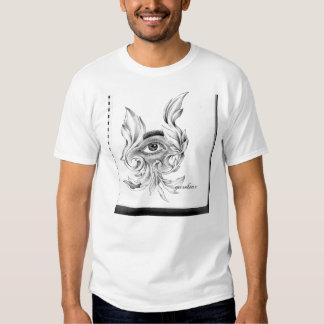 T do bloco de desenho tshirt