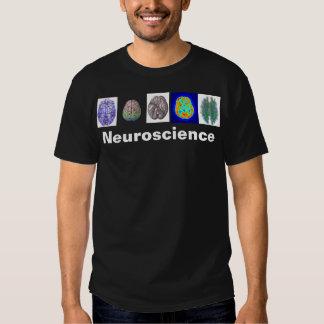 T do cérebro da neurociência t-shirts