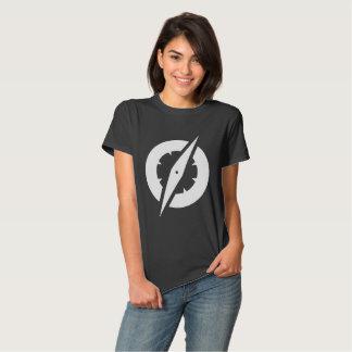 T do compasso do GlobalGen das mulheres (preto) T-shirt