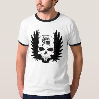 T do crânio de RockStar Camiseta