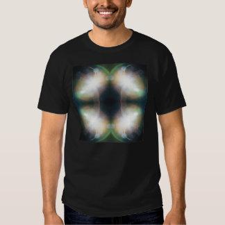 T do design da mandala do brilho tshirts