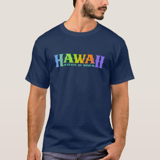 T do estado de ânimo de Havaí T-shirt
