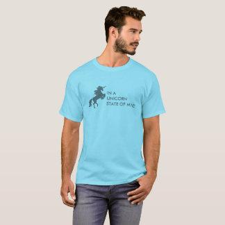 T do estado de ânimo do unicórnio (adulto) camiseta