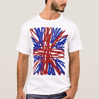 T do gráfico de Union Jack Camiseta