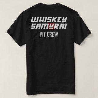 T do grupo de poço do samurai do uísque camiseta