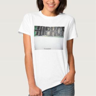 T do hip-hop das senhoras camisetas
