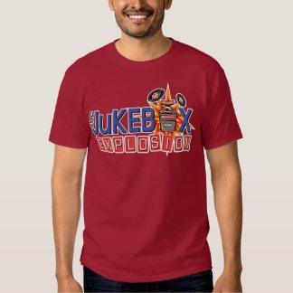 T do logotipo da explosão do jukebox t-shirts