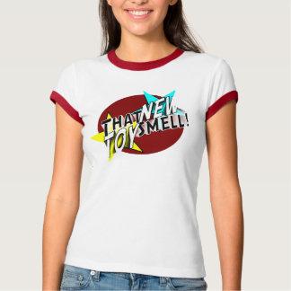T do logotipo das senhoras TNTS Tshirts
