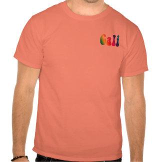 T do logotipo do Hippie de Califórnia da T-shirts