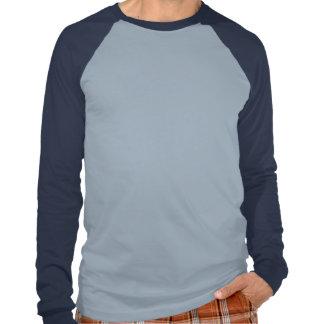 T do LS do Raglan dos homens da placa de Dearborn Tshirt