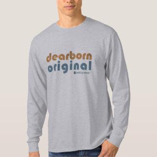 T do LS dos homens originais de Dearborn T-shirts