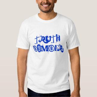 T do músculo do bombardeiro da verdade tshirts