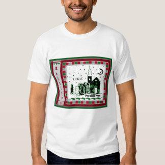 T do Natal do parque de Tubac Presidio Camisetas