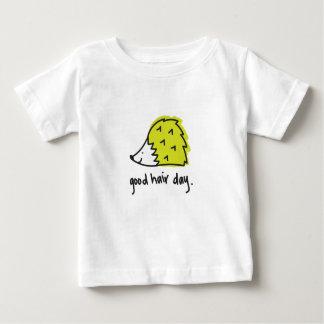 T do ouriço do bebê/miúdos camiseta para bebê