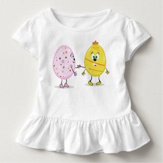 T do plissado da criança do pintor de Eggcellent Camiseta Infantil