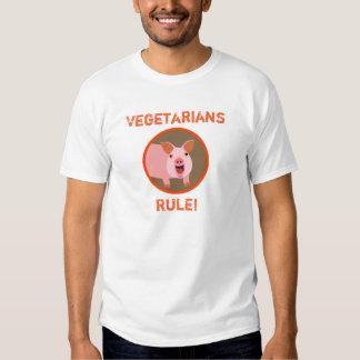 T do porco do vegetariano tshirt