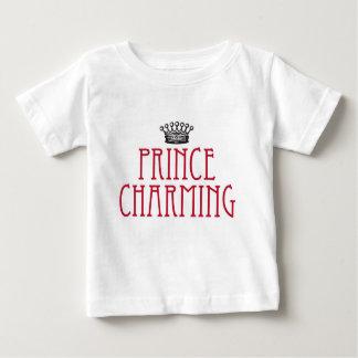 T do príncipe encantamento camiseta para bebê
