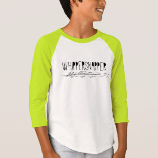 T do Raglan da luva do Whippersnapper 3/4 dos Camiseta