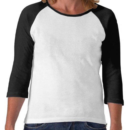 T do Raglan das mulheres de STG T-shirts
