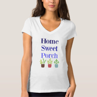 T doce Home das senhoras do patamar Camiseta