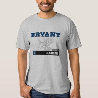 T dos homens de Bryant Eagles Tshirts