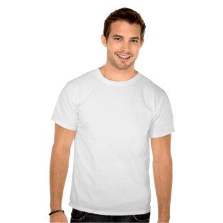 T dos pontapés camisetas