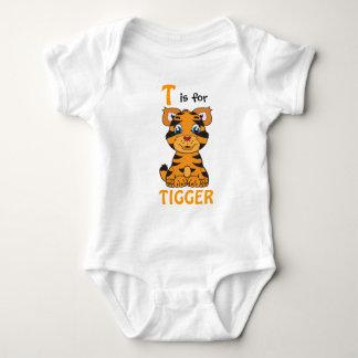 """""""T é para a camisa de TIGGER"""" Childs"""