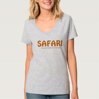T elegante do safari camisetas