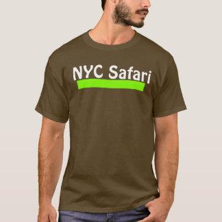 T escuro do safari de NYC Camiseta