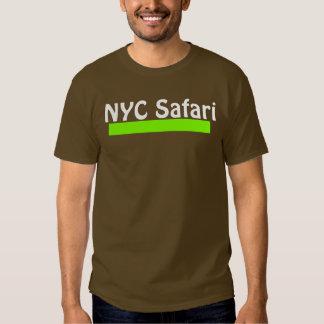 T escuro do safari de NYC Tshirt