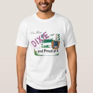 T eu sou de Dixie Tshirts