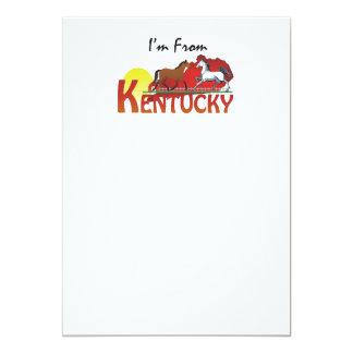 T eu sou de Kentucky Convites Personalizados