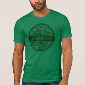 T IRLANDÊS do BAR a personalizar Tshirts