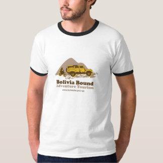 T liso encadernado de Bolívia no estilo do Raglan T-shirt