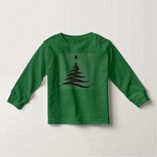 T longo da luva da criança camiseta infantil