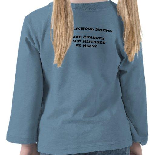 T longo da luva da criança t-shirt