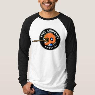 T longo da luva de Downunder dos Airheads de BMW T-shirts
